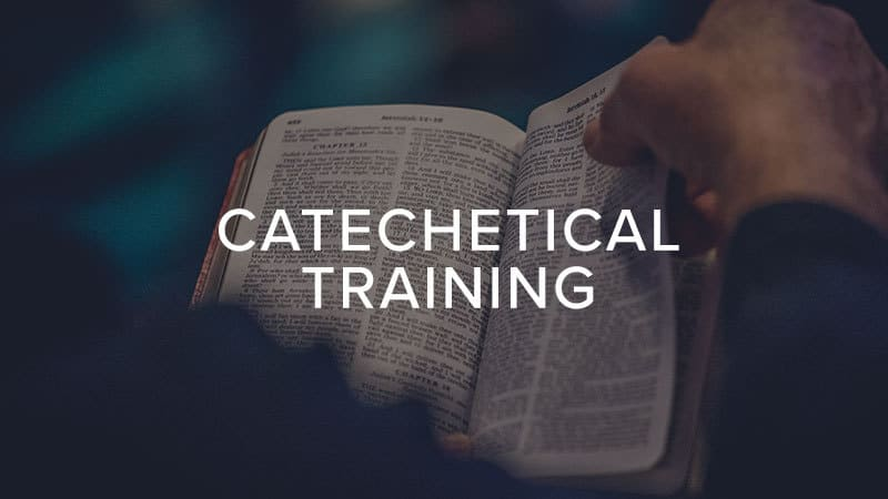 Catechetical Training